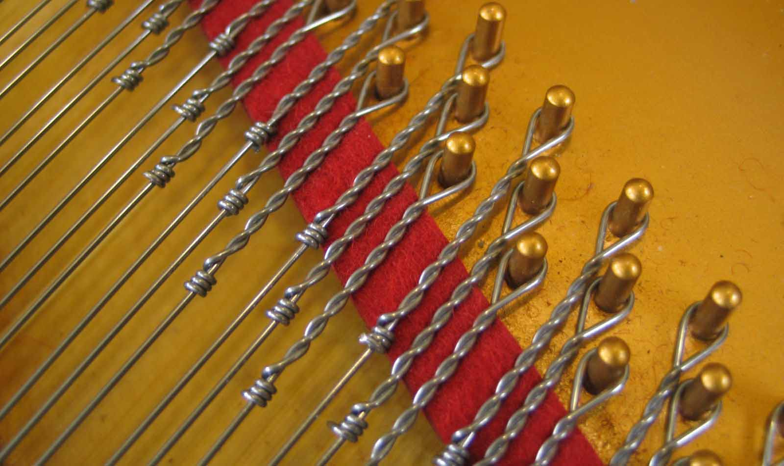 Bouclettes Françaises de cordes de piano