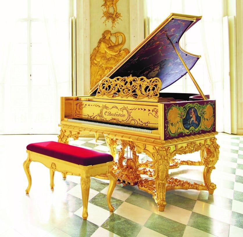 meuble de piano louis XV