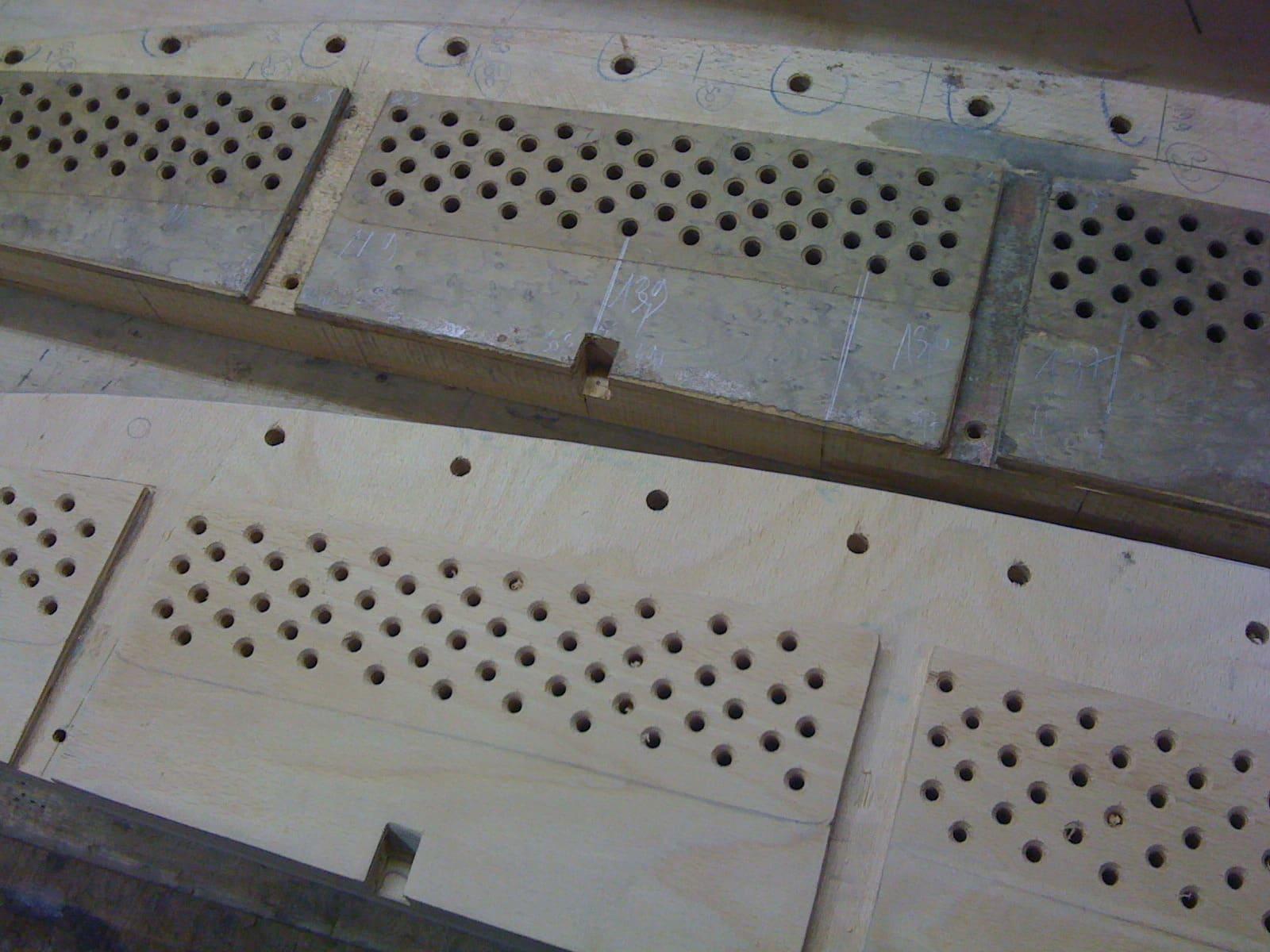 restauration d'un sommier de piano