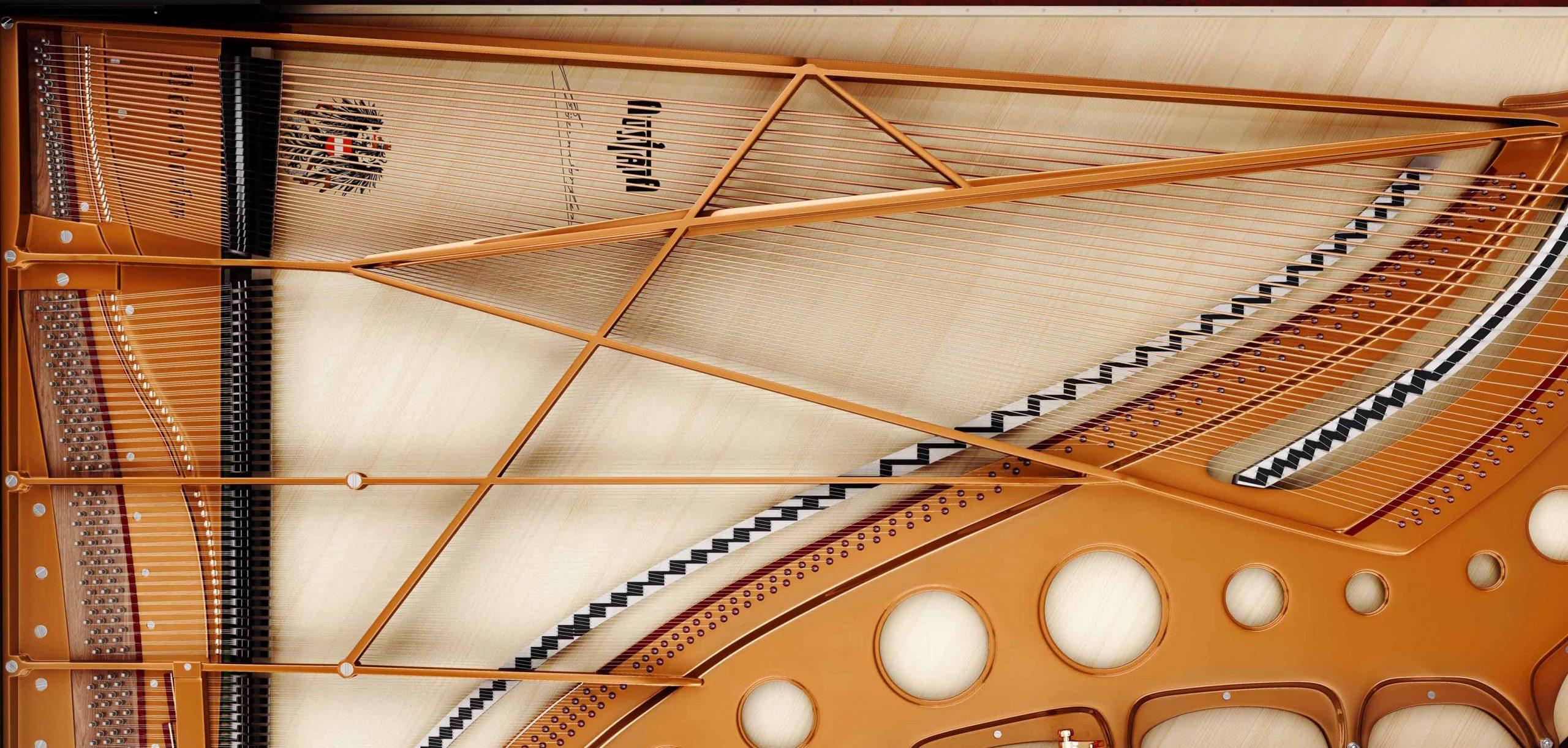 Table d'harmonie de piano