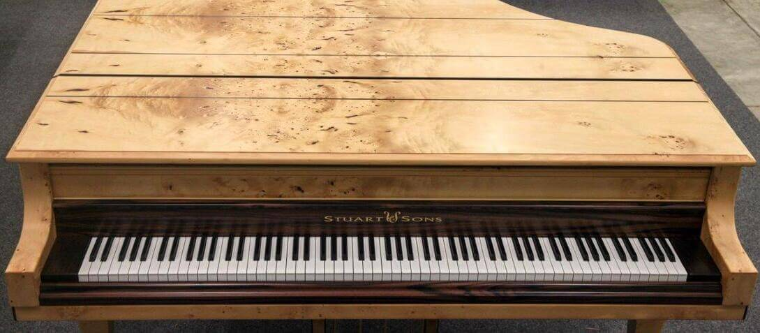 Clavier de piano Stuart & sons 108 touches