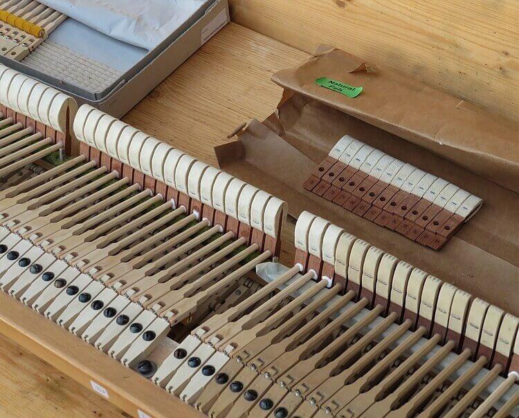 marteaux de piano à queue