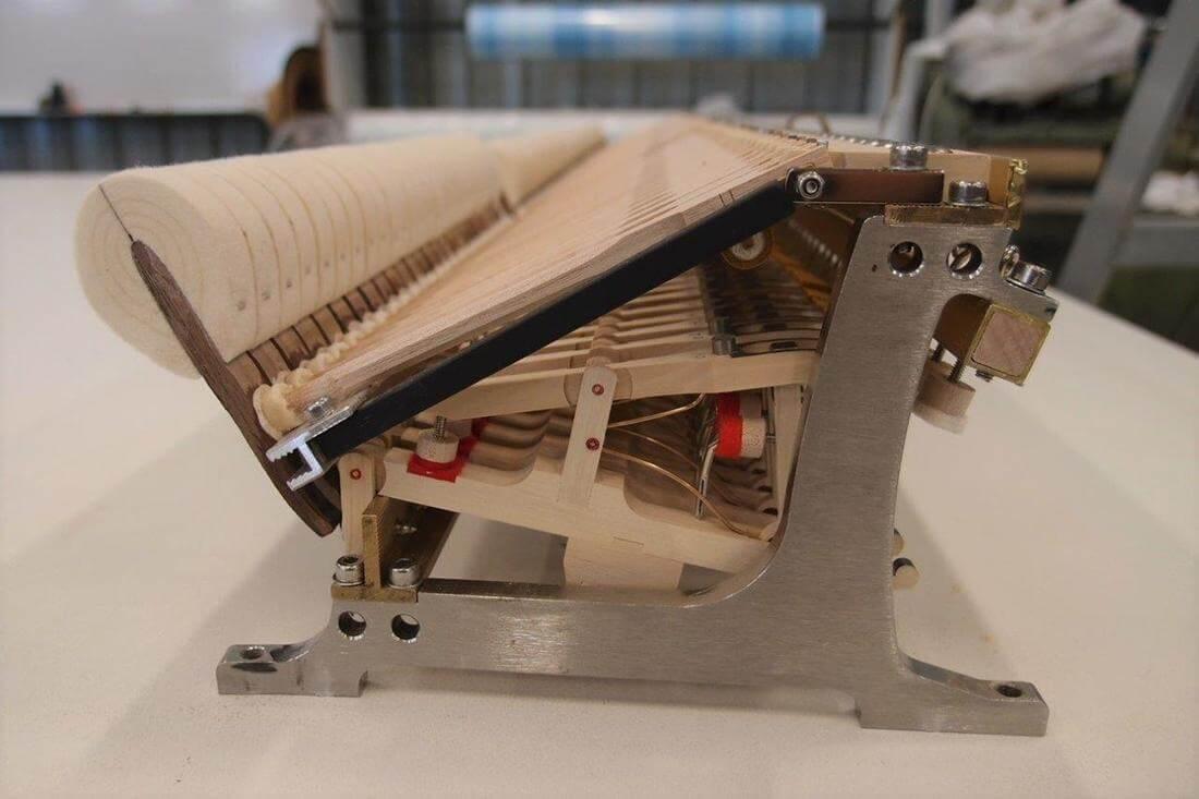 Mécanique de piano Stuart & Sons
