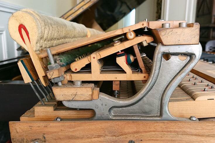 Mécanique de piano Schwander de 1912